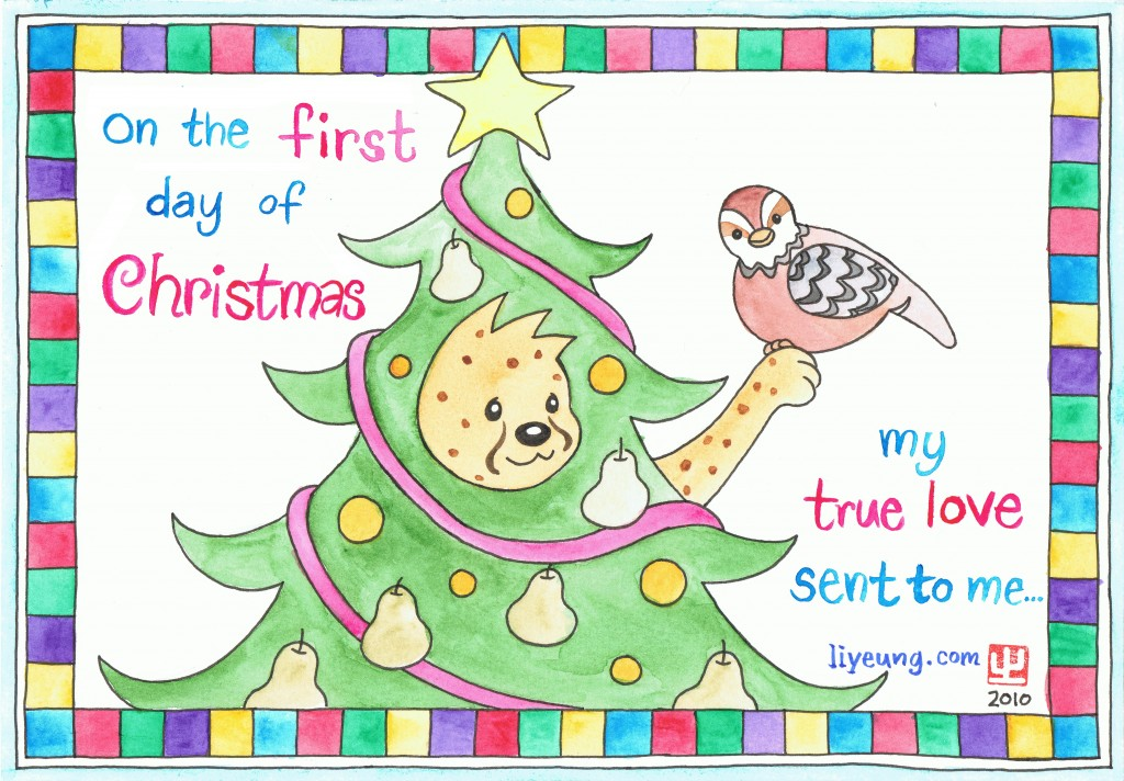 12 days of Christmas by Dumo